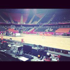lukedrum44's photo  of London 2012 Basketball Arena on Instagram
