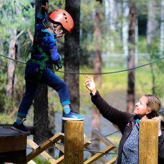 """68 Likes, 1 Comments - Vuokatin Seikkailupuisto (@vuokatinseikkailupuisto) on Instagram: """"Viikonloppuna on aikaa seikkailla koko perheen voimin! Hauskoja kesäseikkailuja! ☀️ .…"""""""