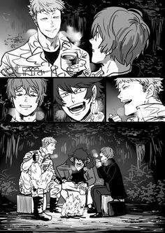 ミート (@ochatowine) さんの漫画   23作目   ツイコミ(仮) Cute Anime Boy, Anime Guys, Manga Anime, Anime Art, Hi Welcome To Chili's, Demon Days, Rap Battle, Handsome Anime, Comic Strips