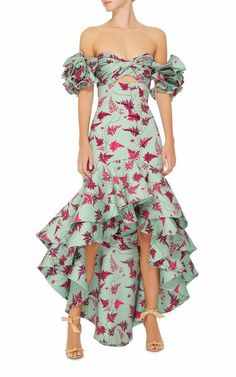 M'O Exclusive Clarissa Dress by Johanna Ortiz Casual Dresses, Fashion Dresses, Evening Dresses, Summer Dresses, Western Outfits, Look Fashion, Beautiful Dresses, Party Dress, Dress Up
