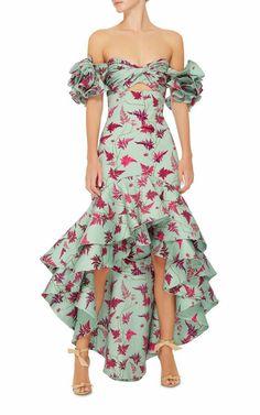 M'O Exclusive Clarissa Dress by Johanna Ortiz Casual Dresses, Fashion Dresses, Evening Dresses, Summer Dresses, Look Fashion, Beautiful Dresses, Party Dress, Dress Up, Mint