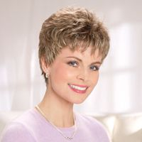 Cancer Wigs, Chemo Wigs, Blond Wigs, Short Wigs, Wigs For Cancer Patients Short Hair Over 60, Short Grey Hair, Short Hair Wigs, Cute Hairstyles For Short Hair, Wig Hairstyles, Curly Hair Styles, Gray Hair, Wigs For Cancer Patients, Hair And Beauty