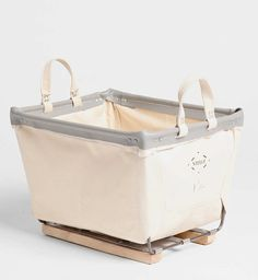 Steel Canvas Storage Bin from Urban Outfitters
