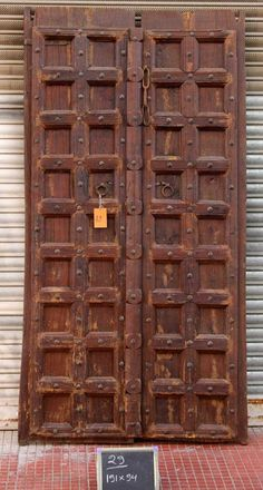 Doors and Gates from Shikara Design. From immense Indian hand carved door frames and Bali gates to smaller access single doors we have a huge selection of doors and doorways at our disposal Wooden Main Door Design, Indian Doors, Single Doors, Entrance Doors, Tall Cabinet Storage, Hand Carved, Carving, Interior Design, Architecture