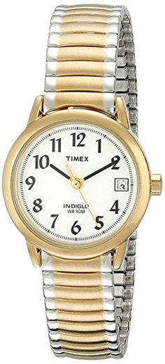 Amazon.com: Timex Women's T2H371 Easy Reader Silver-Tone Stainless Steel Expansion Band Watch: Timex: Watches