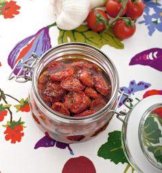 Pomodorini confit alla marocchina