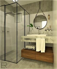 Banheiro | By Eduarda Ritzmann Arquitetura e Paisagismo