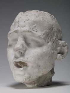 1887 Head of a Slave, Camille Claudel