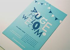 Business Boom Bolton Welcome Poster by Emma Benyon, via Behance