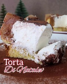 Italian Chocolate, How To Make Homemade, Christmas Cookies, Vanilla Cake, Nutella, Food Porn, Food And Drink, Xmas, Yummy Food