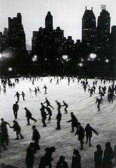 wollman Rink - central park  | via mad about Manhattan ~ Cityhaüs Design