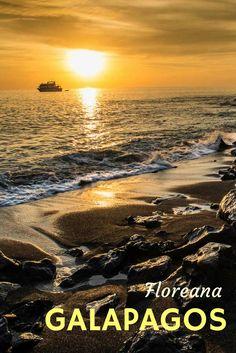 Sunset, Isla Floreana, Galapagos, Ecuador via @travelpast50