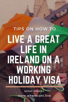 If you are thinking of moving to Ireland on a working holiday visa, you need to read this.  packed with tips and advice and a telling of Sarah Nuttycombe's experience. #Ireland #expatlife #expat #expatliving #livingabroad #internationalliving #overseas #moveabroad #relocation #immigration #workingholiday #visa #traveltips Moving To Ireland, Ireland Travel, Ireland Vacation, Scotland Travel, Working Holiday Visa, Working Holidays, Work Abroad, Study Abroad, Backpacking Ireland