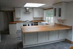 One of our customers Oak Super Stave Worktops.  www.facebook.com/norfolkoak