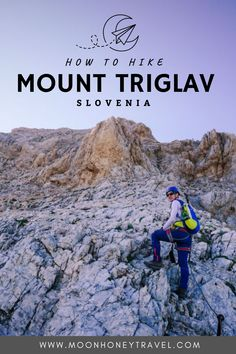 A detailed guide to hiking to the summit of Slovenia's hightest mountain, Mount Triglav. This 2-day route starts at the Pokljuka Plateau and is considered the easiest ascent route to Triglav. #julianalps #slovenia #slovenianalps #triglav #hiking #viaferrata Hiking Food, Hiking Tips, Scotland Hiking, Waterfall Trail, Slovenia Travel, Julian Alps, Hiking Europe, Best Hikes, Hiking Equipment