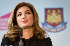 West Ham confirm 52000 season tickets sold at Olympic Stadium as Karren Brady reveals ambition to become 'one of the top 10 most successful clubs in Europe'