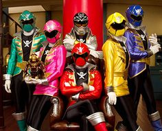 I need a squad to suit up with. Where are my gokaiger cosplayers! Power Rangers Zeo, Power Rangers In Space, Power Rangers Megaforce, Go Go Power Rangers, Mighty Morphin Power Rangers, Kamen Rider Ooo, Kamen Rider Decade, Desenho Do Power Rangers, Go Busters