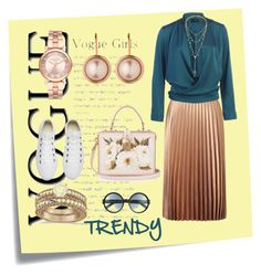 """OXFORD QALIF"" by bileyuna ❤ liked on Polyvore featuring Post-It, Miss Selfridge, Michael Kors, Dolce&Gabbana, Converse, Allurez, Dyrberg/Kern and Tom Ford"