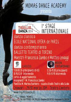 TIGULLIO DANZA 2014 - STAGE INTERNAZIONALE DI DANZA CLASSICA E CONTEMPORANEA « weekendinpalcoscenico la danza palco e web   IL PORTALE DELLA DANZA ITALIANA   weekendinpalcoscenico.it