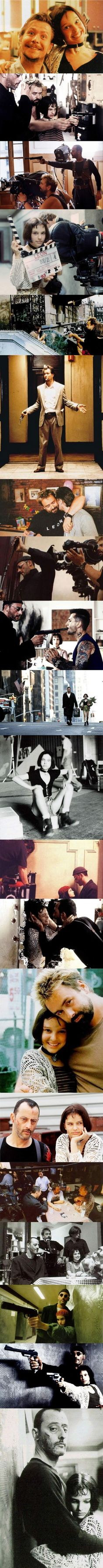 """20 photos from the making of """"Léon: The Professional"""" (1994)"""