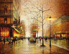 Guy Dessapt - Paris at night | Artwork I love | Pinterest | Paris ...