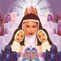 Kim Kardashian vira Maria, Jesus o Diabo e mais