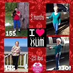 Carla says ~ I am an ambassador for Plexus and love it! I am turning 60 in a few days and back in October I felt sluggish and none of my clothes fit. So...I started on my Plexus journey. I am VERY limited in my exercise due to a car wreck. I had back surgery in 05 that corrected my disc problem. Then in 2012 my lower lumbar discs collapsed and my teacher insurance won't pay for a surgery...long story. So this is what I took to lose my weight. Each morning I took one accelerator and an X…