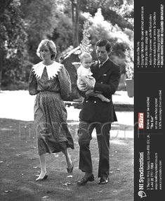 23 April 1983 - first a photo call at Gov house with baby William, later Prince Charles participated in a game of Polo for which the Princess watched