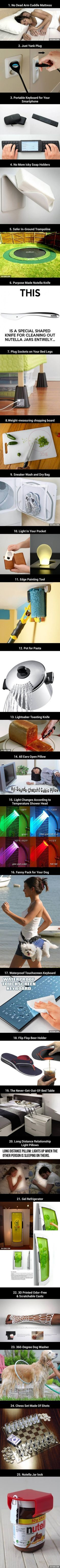 25 Just Really Cool Inventions                                                                                                                                                                                 More