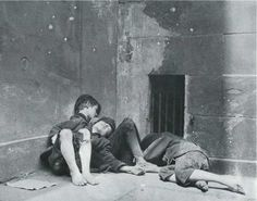 Children sleeping rough in the slums of NYC (in the beginning of last century) - more images behind the link