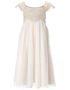Beautiful.  This is like a kid version of Eliana's baptism dress.