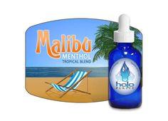 Le e-liquide Malibu Menthol par Halo est une saveur agréable tout en douceur, parfaite pour vapoter à la plage ou à la piscine.