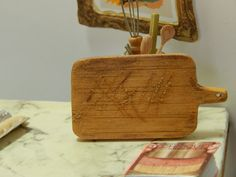 Hey, I found this really awesome Etsy listing at https://www.etsy.com/listing/227047938/miniature-handmade-wood-cutting-board