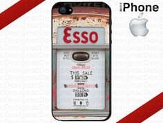 Vintage Esso Gas Pump iPhone 4/4S and iPhone 5 by CrazianDesigns,