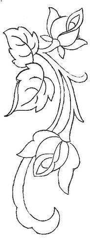 Dibujos Y Plantillas Para Imprimir Dibujos De Flores Para