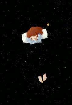'When the night covers the sky' - by Thai My Phuong (Vietnamese artist, also known as tamypu. Scrapbook Bebe, Illustration Photo, Night Illustration, Wow Art, Pics Art, Anime Art Girl, Storyboard, Cute Drawings, Cartoon Art