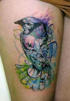 I dont care for the bird...but whatever style this is done in is....well....for lack of a better word...fucking awesome