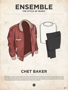 styleofmusic chetbaker Ensemble: The Style of Music (20 Iconic Male Musicians)