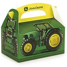 John Deere Party Favor Boxes Featuring 6420 Tractor (Set of 4) - LP14890 on eBay!