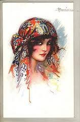 1920s headscarf - Google Search
