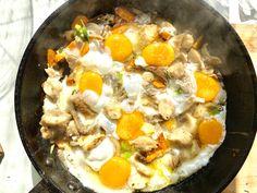 Sokgombás tojás villásreggelire - HENI SÜT NEKED Naan, Ethnic Recipes, Food, Essen, Meals, Yemek, Eten