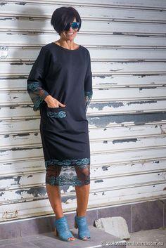 "As idéias mais populares sobre o tema ""Costura na moda . Diy Fashion, Ideias Fashion, Fashion Dresses, Womens Fashion, Casual Dresses, Casual Outfits, Ethno Style, Contemporary Fashion, Dress Patterns"