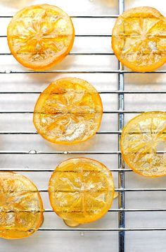 Candied Meyer Lemon Recipe... great as a garnish, too! shewearsmanyhats.com