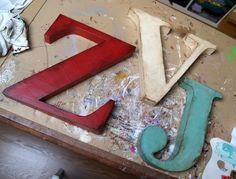 Letras decorativas / Decorative letters