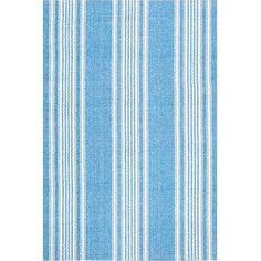 blue stripe cotton rug - Google Search