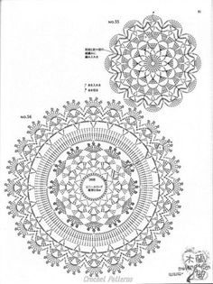 ☕ ☕ Porta -Copos em Crochê de Flores - / ☕ ☕ Beverage Coasters at Crochet of Flowers - ISSUU - Crochet motif by vlinderieke Crochet Patterns and A Great Love of Doilies. This Pin was discovered by oms ru / Фото - Still like motif - Irina-mai Filet Crochet, Mandala Au Crochet, Beau Crochet, Crochet Doily Diagram, Crochet Circles, Crochet Doily Patterns, Crochet Round, Crochet Chart, Crochet Squares