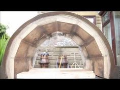 Oil Drum Wood Fired Pizza Oven and BBQ - YouTube