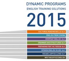 Jan. 6, 2015 Official date of release for the new 'Dynamic Programs' - English self-training solutions for levels A1 to C2. 400 hours of independent training is available at the Language Resource Center.