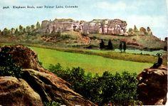Palmer Lake, Colorado Palmer Lake, Old Postcards, Mount Rushmore, Colorado, Mountains, Places, Nature, Travel, Aspen Colorado