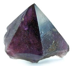 Amethyst with Hematite inclusions from Canada